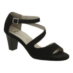 Women's ara Rosemary 34669 Sandal Black Suede