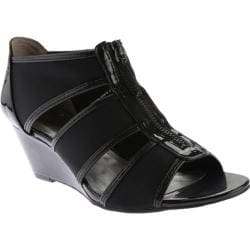 Women's Bandolino Opie Sandal Black/Black Synthetic