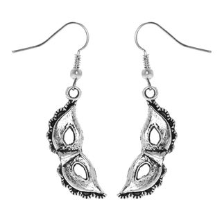 Mask Charm Dangle Earrings