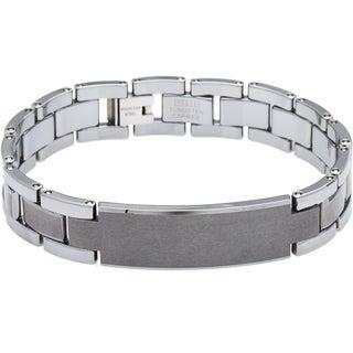 Men's Gunmetal Link Bracelet