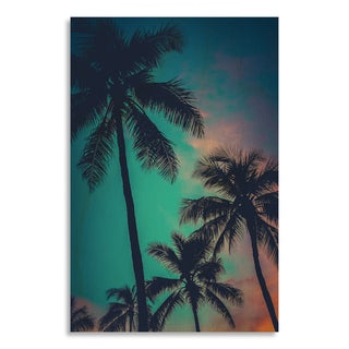 Gallery Direct 'Retro Sunset Hawaii Palm Trees'