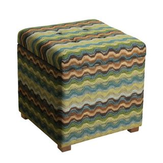 HomePop Fashion Cube Storage Ottoman  sc 1 st  Overstock.com & Geometric Ottomans u0026 Storage Ottomans - Shop The Best Deals for ... islam-shia.org