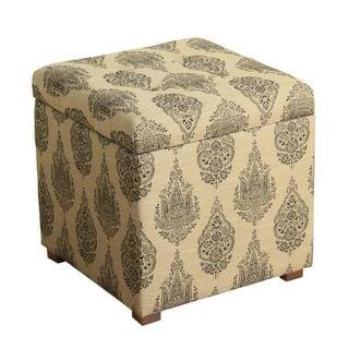 HomePop Fashion Cube Storage Ottoman