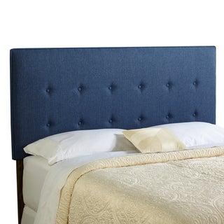 Humble + Haute Brighton Full Size Navy Blue Upholstered Headboard