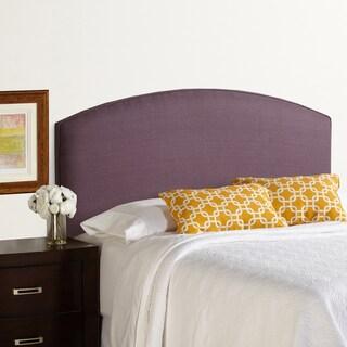 Humble + Haute Bingham King Size Iris 100-percent Linen Curved Upholstered Headboard