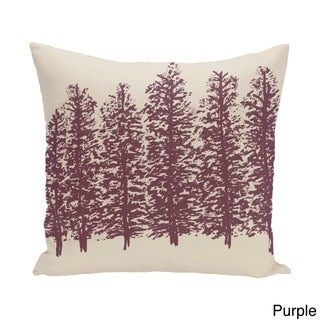 16 x 16-inch Through the Woods Floral Print Pillow (4 options available)