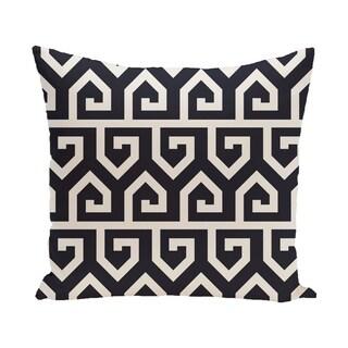 16 x 16-inch Keyed Up Geometric Print Pillow
