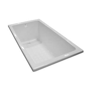 Toto FBY1550P#01 Cotton White Soaking Bathtub