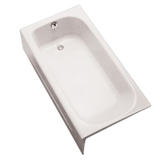 Toto Enameled Cast Iron Bathtub FBY1515LP#01 Cotton White