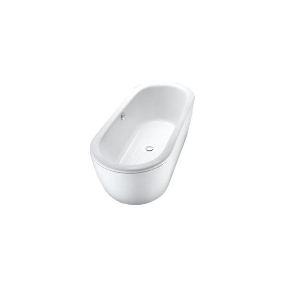 Toto Nexus Soaking Bathtub FBF794S#01DCP Cotton/Polished Chrome