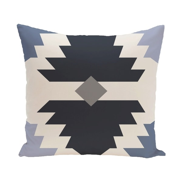 18 x 18-inch Mesa Geometric Print Pillow