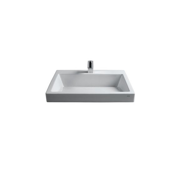 Toto Kiwami Vessel Fireclay Bathroom Sink Lt171g 01 Cotton White