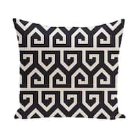 20 x 20-inch Keyed Up Geometric Print Pillow