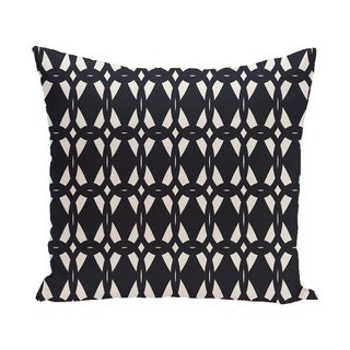 20 x 20-inch Geo-Craze Geometric Print Pillow