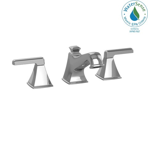 Toto Connelly Two Handle Widespread 1.5 GPM Bathroom Sink Faucet TL221DD#CP Polished Chrome