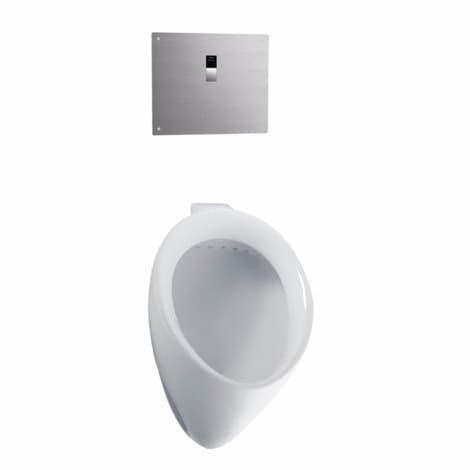 Toto UT104EV#01 Cotton White Porcelain .5 GPF Urinal (Cot...
