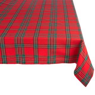 Holiday Plaid Tablecloth