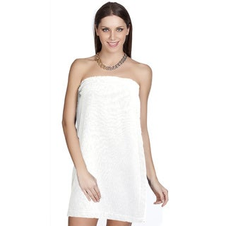 Authentic Hotel and Spa Turkish Cotton Terry White Women's Spa and Shower Towel Wrap|https://ak1.ostkcdn.com/images/products/10508440/P17588003.jpg?_ostk_perf_=percv&impolicy=medium