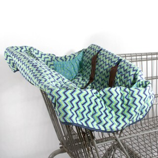 Pam Grace Creations Chevron Grocery Cart Cover