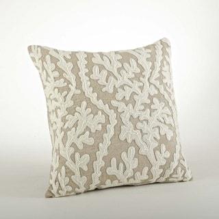 Dori Embroidered Design Throw Pillow