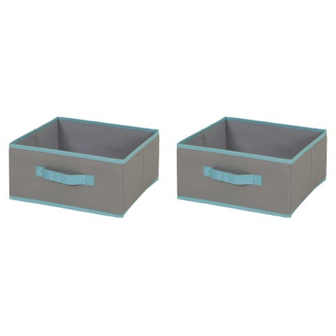 South Shore Fabric Storage Bin - 2 pack