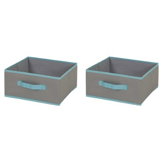 South Shore Fabric Storage Bin - 2 pack