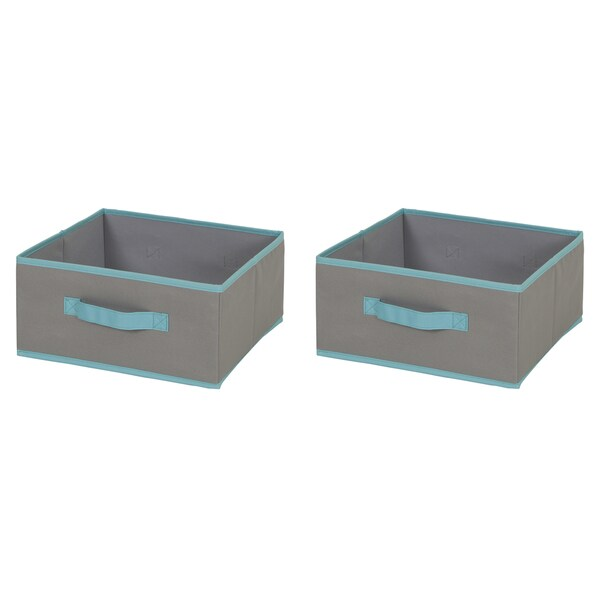 South Shore Fabric Storage Bin - 2 pack  sc 1 st  Overstock.com & Shop South Shore Fabric Storage Bin - 2 pack - Free Shipping On ...