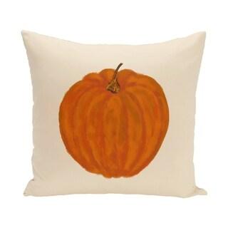 18 x 18-inch Li'l Pumpkin Holiday Print Pillow