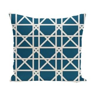 26 x 26-inch Trellis Geometric Print Pillow