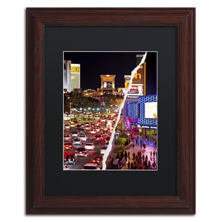 Philippe Hugonnard 'The City of Las Vegas' d Wall Art