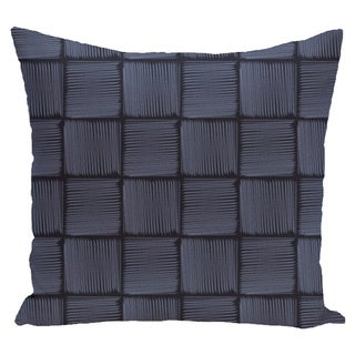 26 x 26-inch Basketweave Geometric Print Pillow