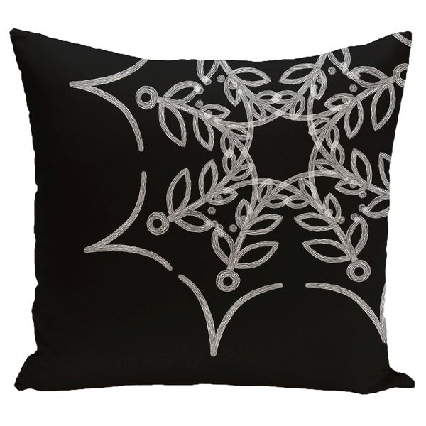 18 x 18-inch Web Art Holiday Print Pillow