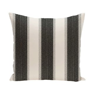 18 x 18-inch Striate Stripe Stripe Print Pillow