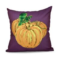 26 x 26-inch Tres Calabazas Holiday Print Pillow
