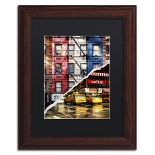Philippe Hugonnard 'American Colors' Black Matte, Wood Framed Wall Art