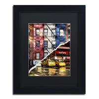 Philippe Hugonnard 'American Colors' Black Matte, Black Framed Wall Art