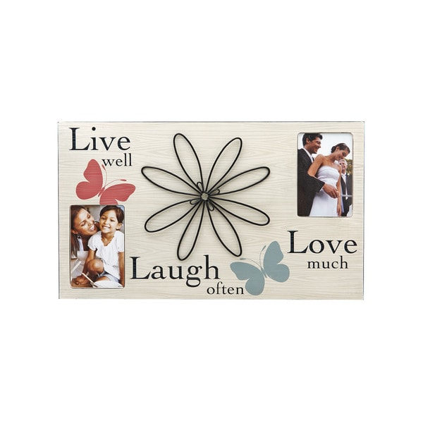 Shop Melannco 3 Opening Sentiment 12x20 Family Picture Frame Free