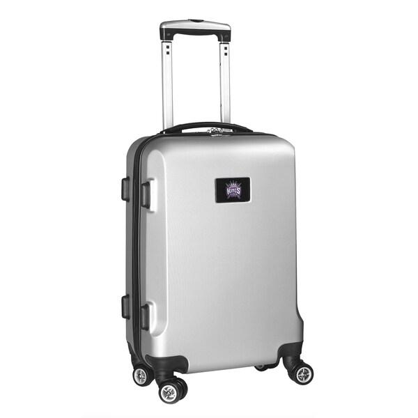 Denco Sports NBA Sacramento Kings 20-inch Hardside Carry On Spinner Upright Suitcase