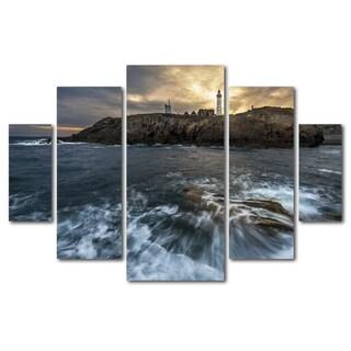 Mathieu Rivrin 'The Lighthouse' Canvas Wall Art