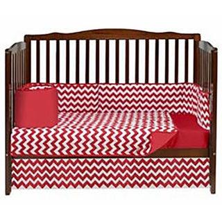 Baby Doll Chevron Crib Bedding Set