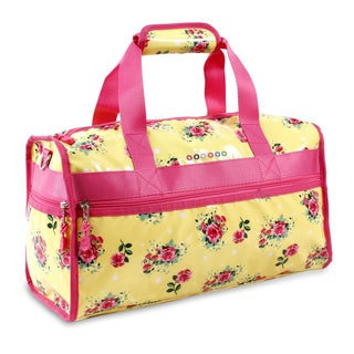 J World English Rose Molly 17-inch Carry-on Duffel Bag