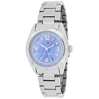 Tommy Hilfiger Women's 1781551 Hadley Round Silvertone Stainless Steel Bracelet Watch