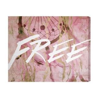 Runway Avenue 'Free' Canvas Art