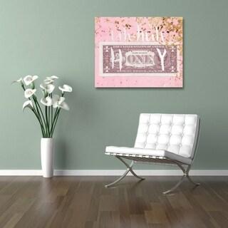 Runway Avenue 'Uh Huh Honey' Canvas Art