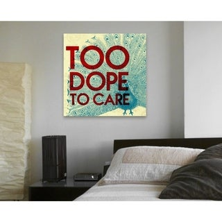 Runway Avenue 'Too Dope' Canvas Art