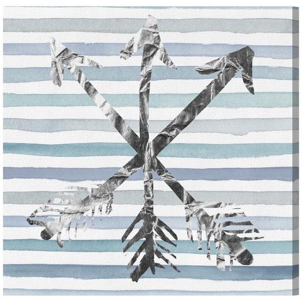 Runway Avenue 'Silver Arrows' Canvas Art