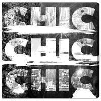 Runway Avenue 'Triple City Chic' Canvas Art