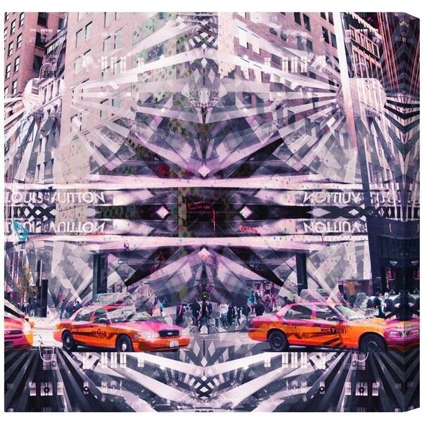 Runway Avenue 'Get Me A Cab' Canvas Art