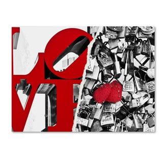 Philippe Hugonnard 'Love' Canvas Wall Art