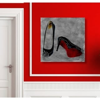 Runway Avenue 'Get A Kick Out Of It' Canvas Art